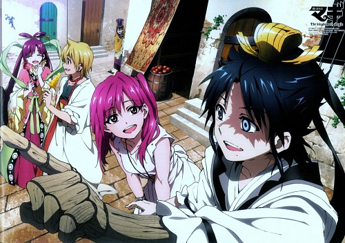 Shinobu Ohtaka, A-1 Pictures, MAGI: The Labyrinth of Magic, Alibaba Saluja, Kougyoku Ren