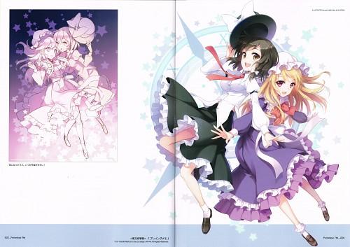 An2a, Petite Fatal 7th, Touhou, Maribel Han, Renko Usami