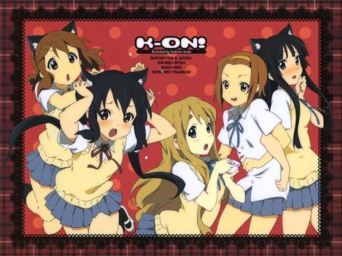 Kakifly, Urata Yoshinori, Kyoto Animation, K-On!, Azusa Nakano
