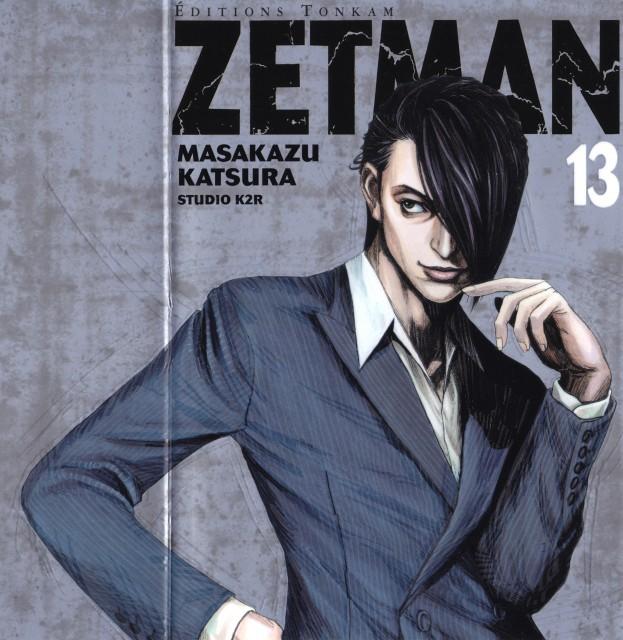 Masakazu Katsura, Zetman, Seiji Haitani, Manga Cover