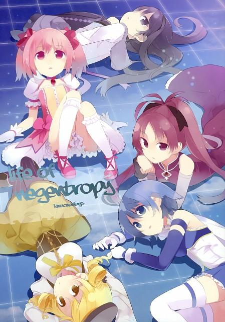 Hiroki Haruse, Puella Magi Madoka Magica, Life of Negentropy, Mami Tomoe, Sayaka Miki