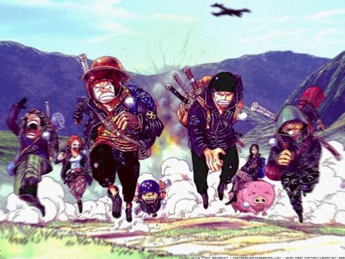 Eiichiro Oda, Toei Animation, One Piece, Tony Tony Chopper, Monkey D. Luffy Wallpaper