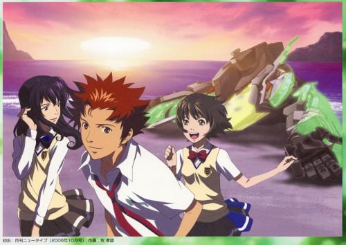 Sunrise (Studio), Zegapain, Ryoko Kaminagi, Kyo Sogoru, Shizuno Misaki