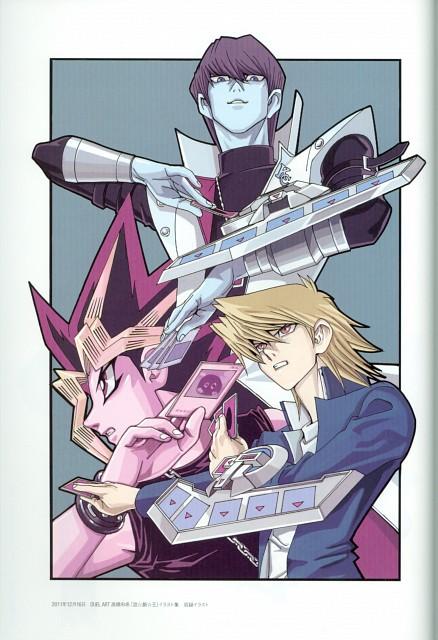 Kazuki Takahashi, Studio Gallop, Yu-Gi-Oh Duel Monsters, Duel Art - Kazuki Takahashi Yu-Gi-Oh! Illustrations, Seto Kaiba