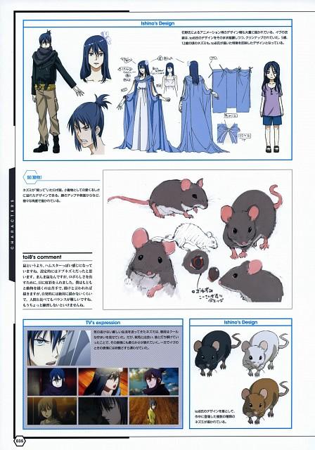 toi8, BONES, No. 6, No. 6 Toi8 Design & Art Works, Nezumi