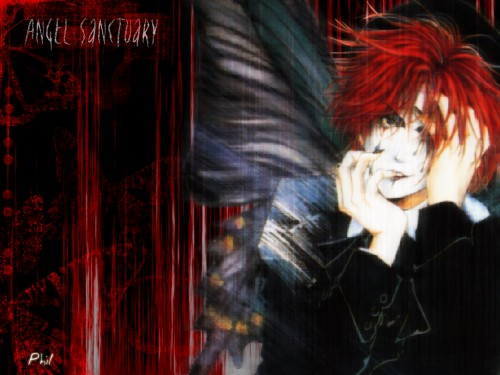 Kaori Yuki, Angel Sanctuary, Mad Hatter (Angel Sanctuary) Wallpaper