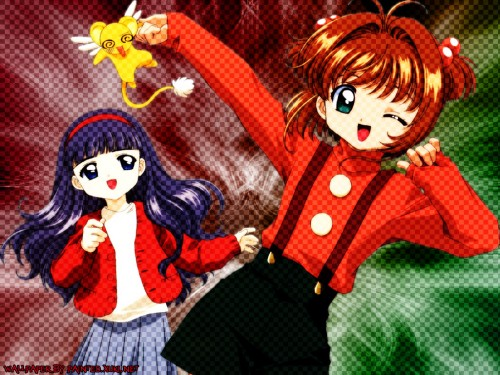 CLAMP, Madhouse, Cardcaptor Sakura, Tomoyo Daidouji, Sakura Kinomoto Wallpaper