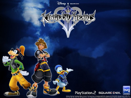 Square Enix, Kingdom Hearts, Goofy, Donald Duck, Sora