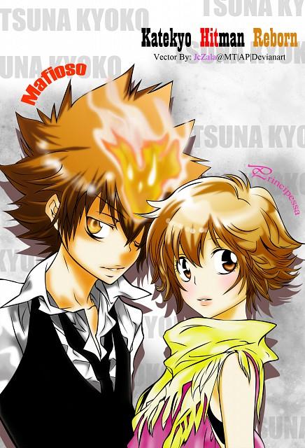 Akira Amano, Artland, Katekyo Hitman Reborn!, Kyoko Sasagawa, Tsunayoshi Sawada