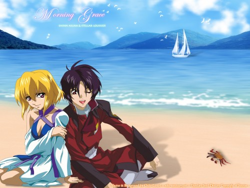 Sunrise (Studio), Mobile Suit Gundam SEED Destiny, Stellar Loussier, Shinn Asuka Wallpaper