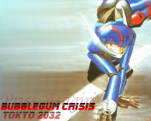 Anime International Company, Bubblegum Crisis, Priscilla S. Asagiri Wallpaper