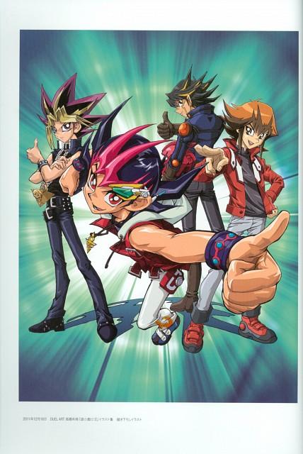 Kazuki Takahashi, Studio Gallop, Yu-Gi-Oh! ZEXAL, Yu-Gi-Oh! GX, Yu-Gi-Oh! Duel Monsters