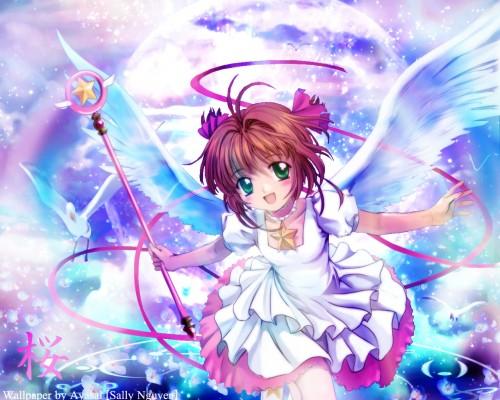 Moon Knives, Cardcaptor Sakura, Sakura Kinomoto Wallpaper
