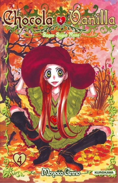 Moyoco Anno, Studio Pierrot, Sugar Sugar Rune, Chocolat Meilleure, Manga Cover