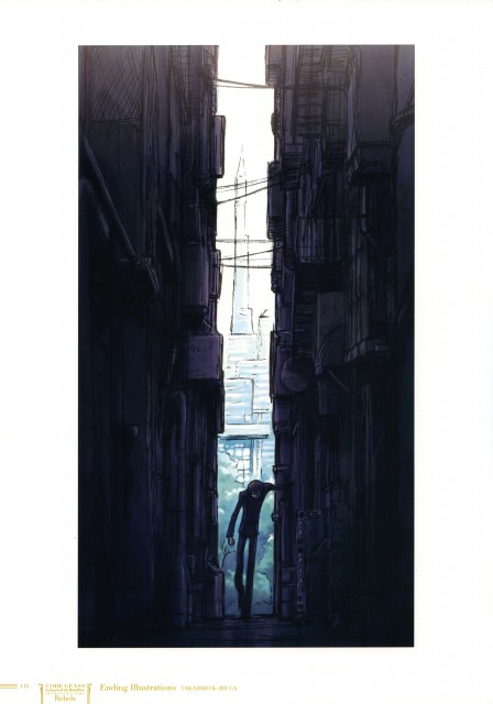 Takahiro Kimura, RICCA, Sunrise (Studio), Lelouch of the Rebellion, Code Geass Ilustrations Rebels