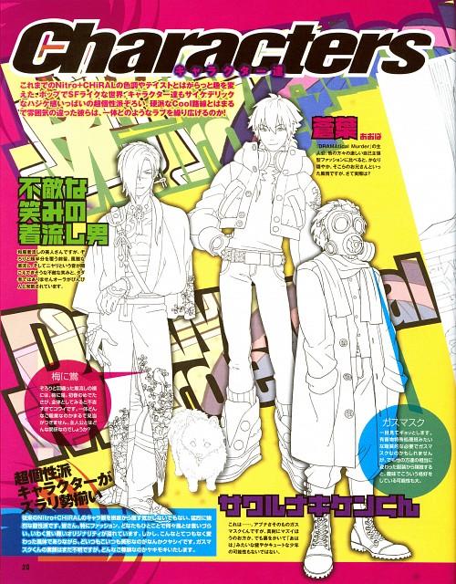 Honyarara, Nitro+, DRAMAtical Murder, Clear (DRAMAtical Murder), Koujaku