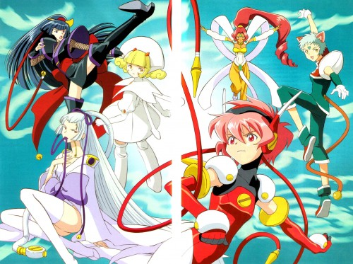 CLAMP, Angelic Layer, Hikaru (Angelic Layer), Blanche (Angelic Layer), Mao (Angelic Layer)