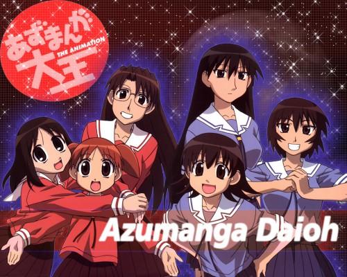 Kiyohiko Azuma, J.C. Staff, Azumanga Daioh, Koyomi Mizuhara, Kagura (Azumanga Daioh) Wallpaper