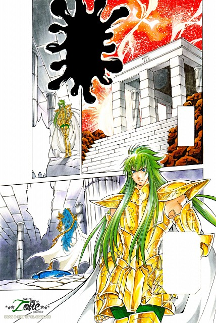 Shiori Teshirogi, TMS Entertainment, Saint Seiya: The Lost Canvas, Aquarius Degel