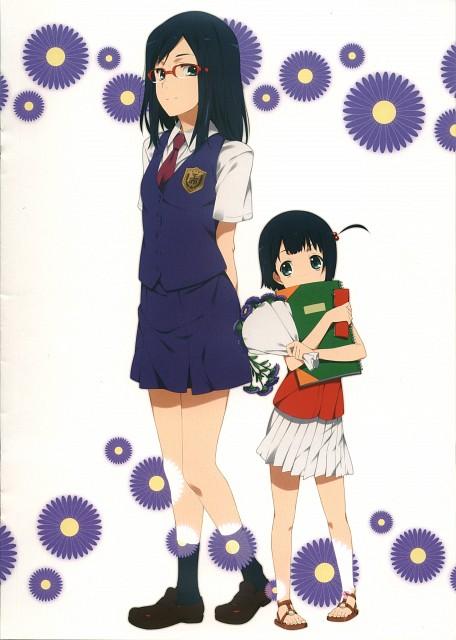 Makoto Mizuki, A-1 Pictures, AnoHana, AnoHana Unofficial Fan Book, Chiriko Tsurumi