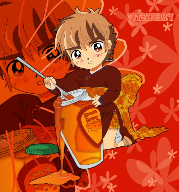 CLAMP, Tsubasa Reservoir Chronicle, Syaoran Li, Vector Art, Member Art