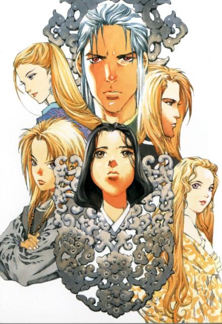 Akihiro Yamada, Twelve Kingdoms, Keiki, Taiki, Renrin
