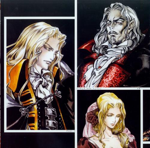 Ayami Kojima, Konami, Castlevania, Dracula, Adrian Farenheights Tepes