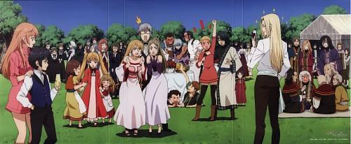 Studio Pierrot, Soredemo Sekai wa Utsukushii, Neil (Soredemo Sekai wa Utsukushii), Kara Lemercier, Tetere Lemercier