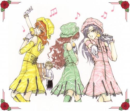 Tsuda Mikiyo, Studio DEEN, Princess Princess, Princess Princess Premium, Yuujiro Shihoudani
