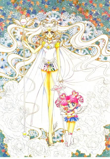 Naoko Takeuchi, Bishoujo Senshi Sailor Moon, BSSM Original Picture Collection Vol. V, Sailor Cosmos, Sailor Chibi-Chibi