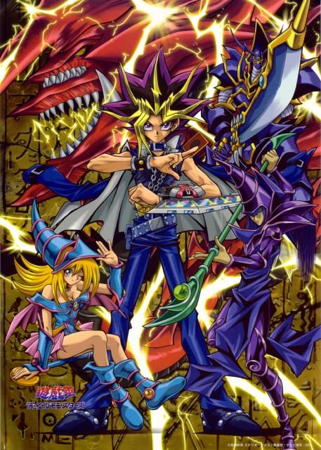 Kazuki Takahashi, Studio Gallop, Yu-Gi-Oh Duel Monsters, Slifer the Sky Dragon, Yami Yuugi
