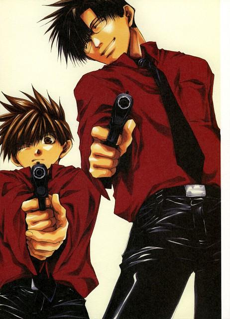 Kazuya Minekura, Studio Pierrot, Saiyuki, Salty Dog II, Son Goku (Saiyuki)