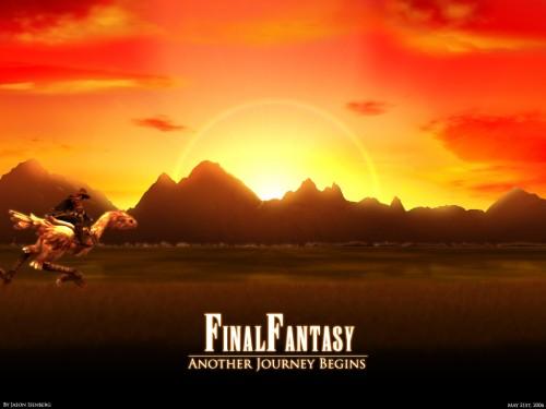 Square Enix, Final Fantasy XI, Chocobo Wallpaper