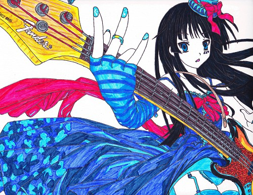 Kakifly, Kyoto Animation, K-On!, Mio Akiyama, Member Art