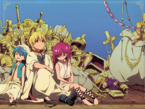 Shinobu Ohtaka, A-1 Pictures, MAGI: The Labyrinth of Magic, Morgiana, Alibaba Saluja
