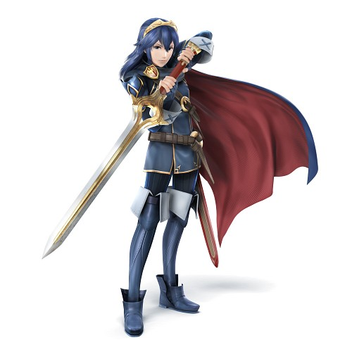 Nintendo, Fire Emblem, Lucina, Official Digital Art