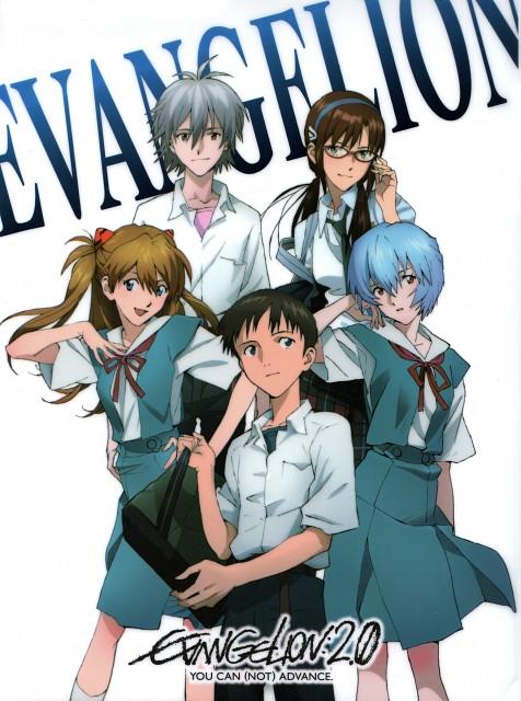 Khara, Gainax, Neon Genesis Evangelion, Rei Ayanami, Asuka Langley Soryu