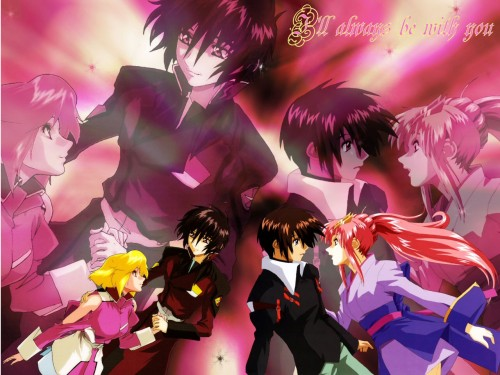 Sunrise (Studio), Mobile Suit Gundam SEED Destiny, Lacus Clyne, Shinn Asuka, Kira Yamato Wallpaper