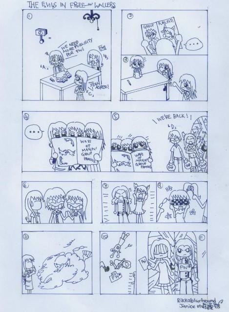 Manga Panels, Member Art, Original