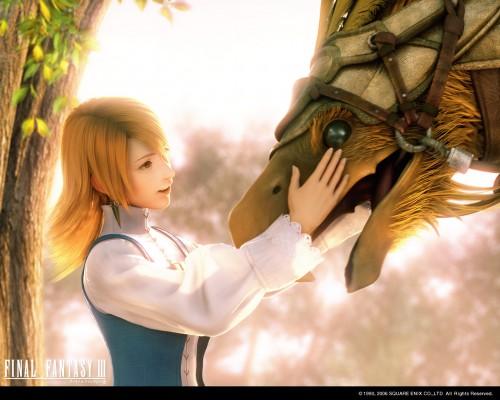 Square Enix, Final Fantasy III, Refia