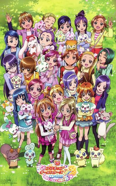 Toei Animation, Precure All Stars, Precure Pia, Komachi Akimoto, Mai Mishou