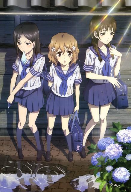 Kanami Sekiguchi, Hanasaku Iroha, Minko Tsurugi, Nako Oshimizu, Ohana Matsumae