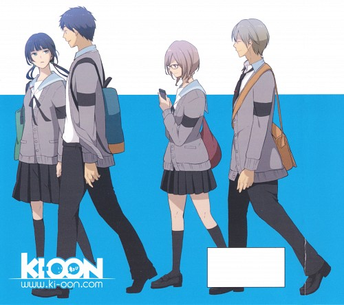 TMS Entertainment, ReLIFE, An Onoya, Arata Kaizaki, Ryou Yoake