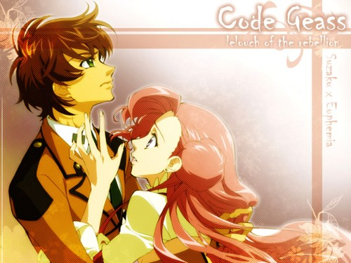Sunrise (Studio), Lelouch of the Rebellion, Suzaku Kururugi, Euphemia Li Britannia Wallpaper