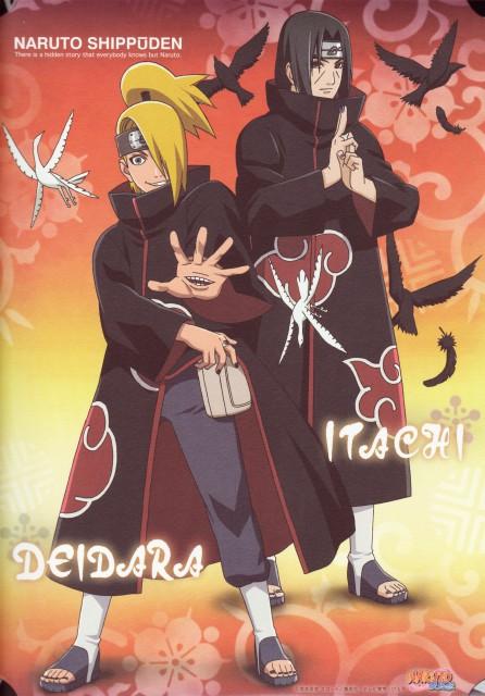 Studio Pierrot, Naruto, Deidara, Itachi Uchiha
