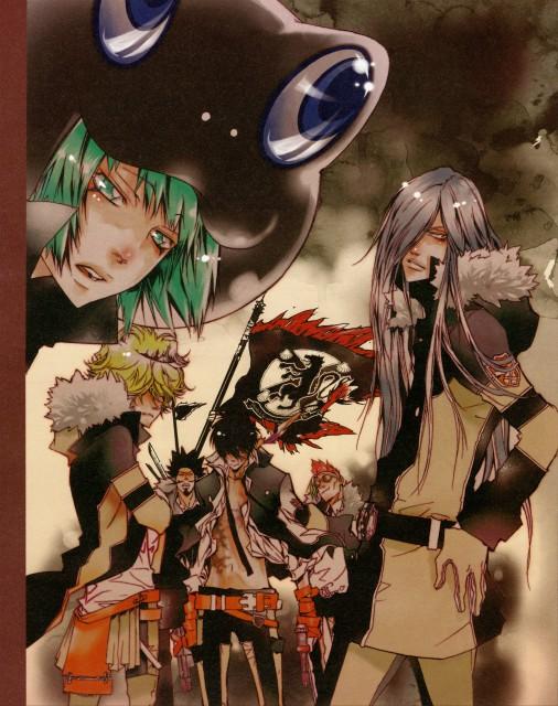 Akira Amano, Katekyo Hitman Reborn!, Colore!, Lussuria, Belphegor (Katekyo Hitman Reborn!)