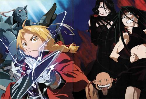 Hiromu Arakawa, BONES, Fullmetal Alchemist, Lust, Envy