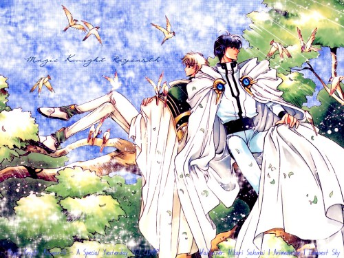 CLAMP, Magic Knight Rayearth, Eagle Vision, Lantis (Magic Knight Rayearth) Wallpaper