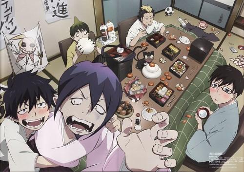 A-1 Pictures, Ao no Exorcist, Yukio Okumura, Amaimon, Rin Okumura