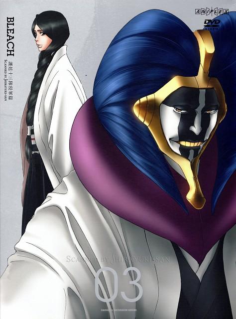 Studio Pierrot, Bleach, Mayuri Kurotsuchi, Retsu Unohana, DVD Cover